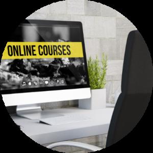 online-courses-circle